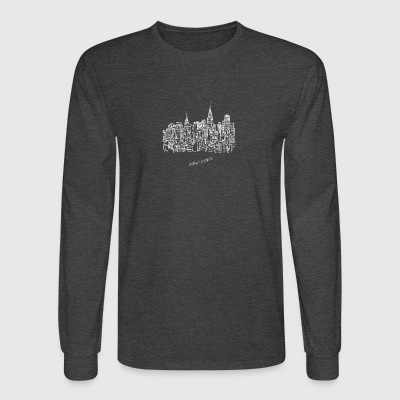 New York City - United States - Men's Long Sleeve T-Shirt