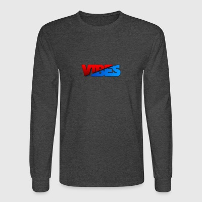 Sick Red And Blue Logo - Men's Long Sleeve T-Shirt