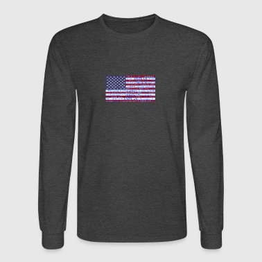 us flag 1779063 1920 - Men's Long Sleeve T-Shirt