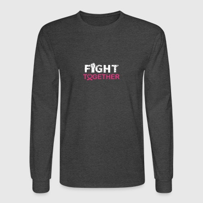 fight together - Men's Long Sleeve T-Shirt