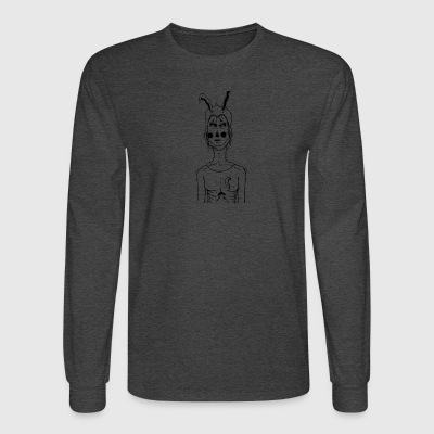 bunny girl - Men's Long Sleeve T-Shirt