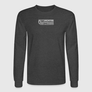 True BloodMerlottes - Men's Long Sleeve T-Shirt