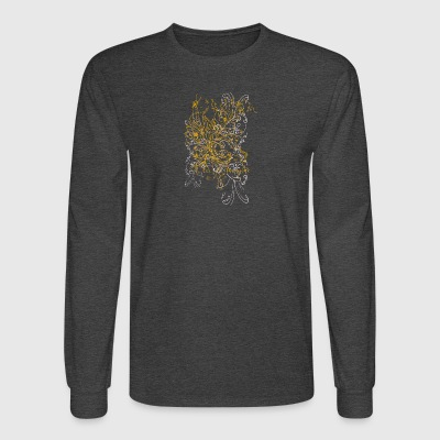 Yellow flowers - Men's Long Sleeve T-Shirt