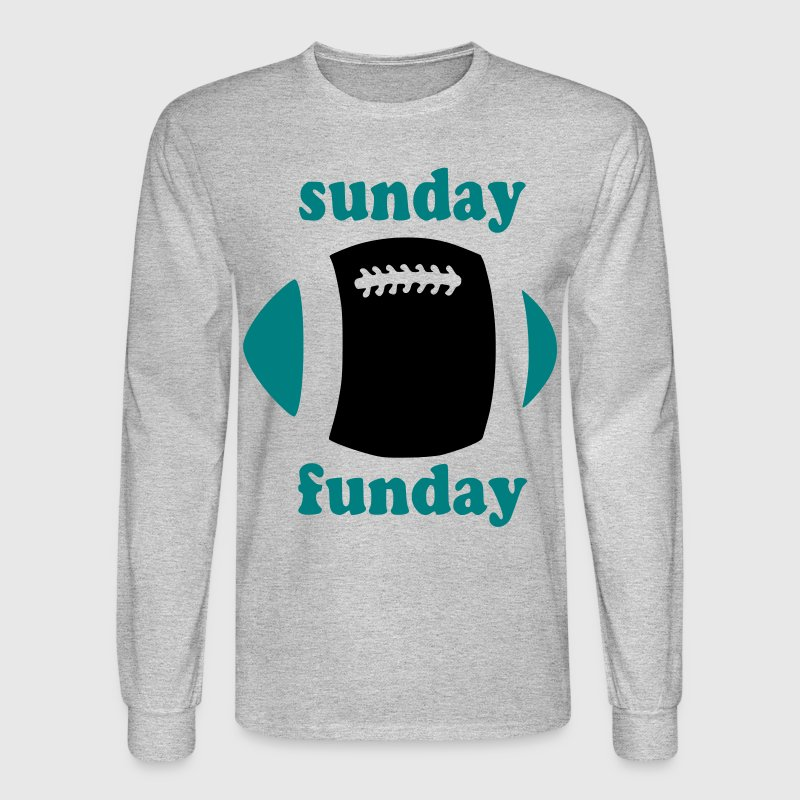 Stylish Pink Sunday Funday - Men's Long Sleeve T-Shirt