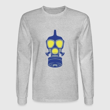 gas mask 22 - Men's Long Sleeve T-Shirt