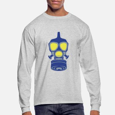 Gas gas mask 22 - Men's Long Sleeve T-Shirt