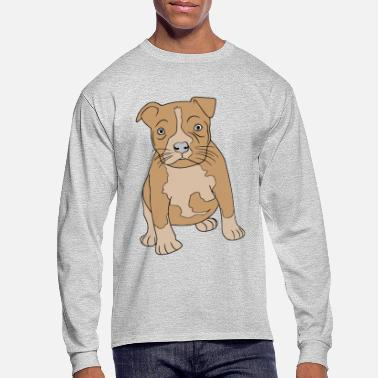 Bull Pit bull - Men's Long Sleeve T-Shirt