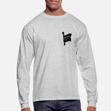 Rebel Flag Graphic Design Rebels Flag - Men's Long Sleeve T-Shirt