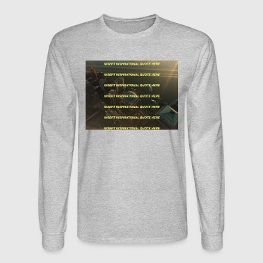 Tree Line lines - Men's Long Sleeve T-Shirt