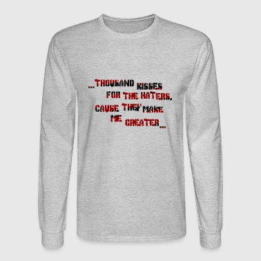 haters - Men's Long Sleeve T-Shirt