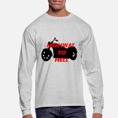 Highway To Hell highway to hell - Men's Long Sleeve T-Shirt