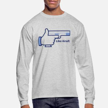 Airsoft Like Airsoft - Men's Longsleeve Shirt