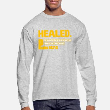 Healing healed - Men's Long Sleeve T-Shirt