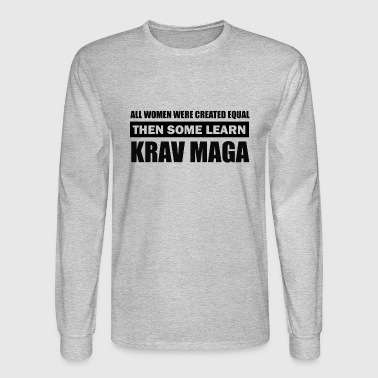 Krav Maga kravmaga design - Men's Long Sleeve T-Shirt
