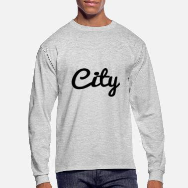 City city - Men's Long Sleeve T-Shirt