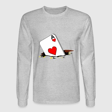 Playing card - Men's Long Sleeve T-Shirt