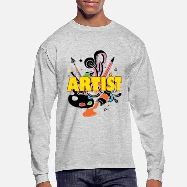 Artist Artist Shirt - Artist T shirt - Men's Long Sleeve T-Shirt