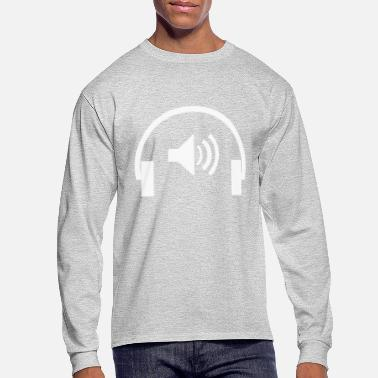 Earphones Earphone - Men's Longsleeve Shirt