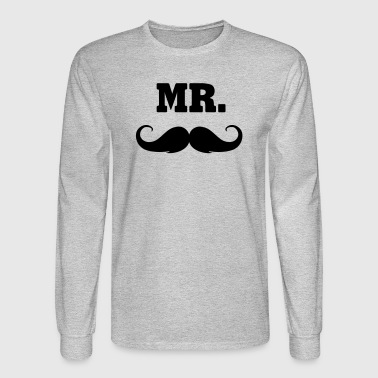 mr. -  MR - Men's Long Sleeve T-Shirt