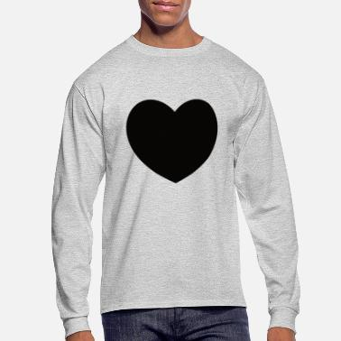 Black Heart Black Heart - Men's Long Sleeve T-Shirt