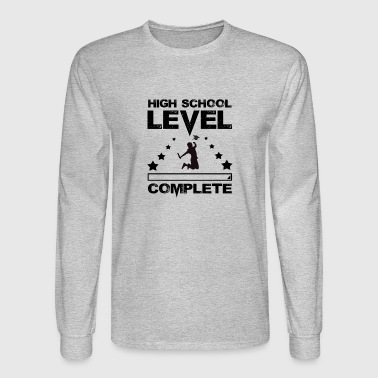 Gamer High School Graduate Graduation - Men's Long Sleeve T-Shirt