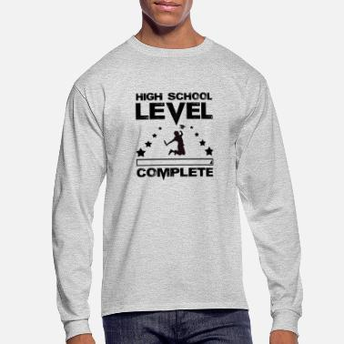 High School Graduate Gamer High School Graduate Graduation - Men's Long Sleeve T-Shirt