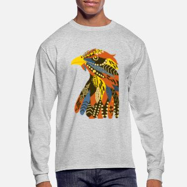 Harvest Harvest Eagle - Men's Long Sleeve T-Shirt