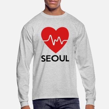 Seoul Heart Seoul - Men's Long Sleeve T-Shirt