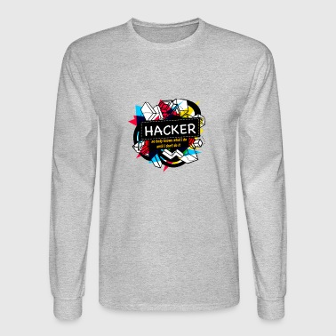 Hackers HACKER - Men's Long Sleeve T-Shirt