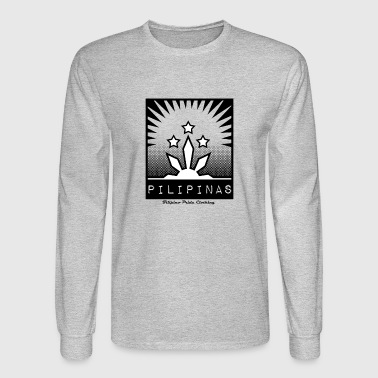 Philippines Filipino Pride. The symbol of the Philippines. - Men's Long Sleeve T-Shirt