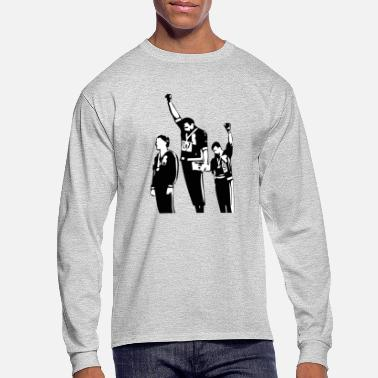 Black Power 1968 Olympics Black Power Salute - Men's Long Sleeve T-Shirt