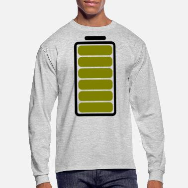 Battery Full Battery - Men's Longsleeve Shirt