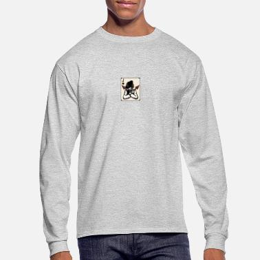 Jack the jack of spades portrait - Men's Longsleeve Shirt