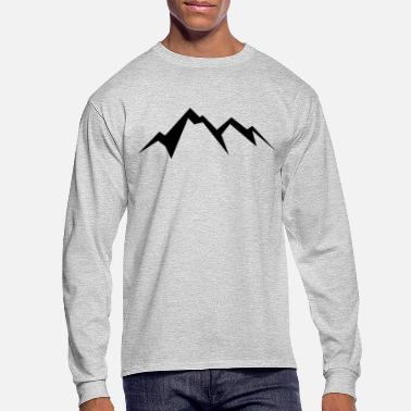 Logos Mountain - Men's Longsleeve Shirt