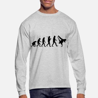 Hip Hop Hip Hop Evolution - Men's Longsleeve Shirt
