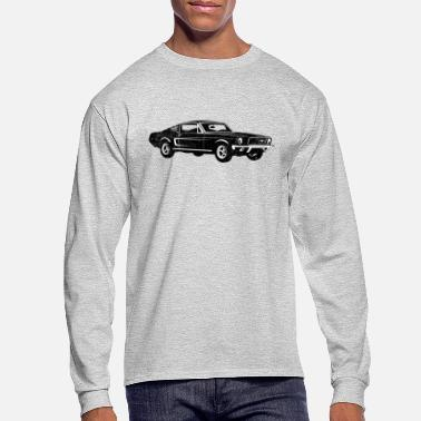 1968 Ford Mustang Fastback - Men's Longsleeve Shirt