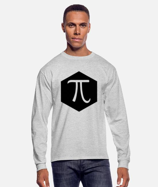 Year Long-Sleeved Shirts - Pi - Men's Longsleeve Shirt heather gray