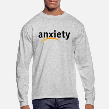 Anxiety Anxiety Amazon Logo - Men's Longsleeve Shirt
