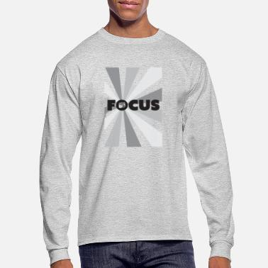 Focus your camera and mind - Men's Longsleeve Shirt