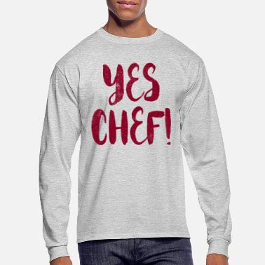 Culinary Arts Yes Chef - Culinary Arts - Men's Longsleeve Shirt