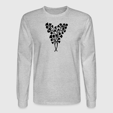 Leaves Decoration - Men's Long Sleeve T-Shirt