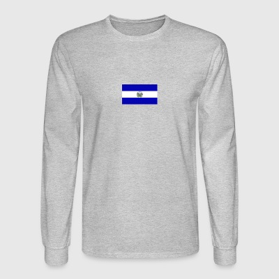 Diseño bandera de el salvador - Men's Long Sleeve T-Shirt
