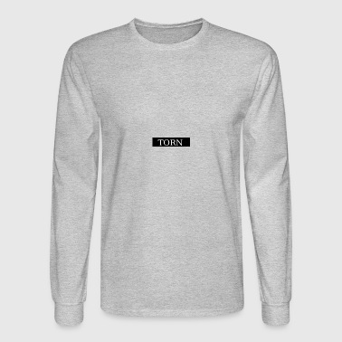 Torn Bank logo - Men's Long Sleeve T-Shirt