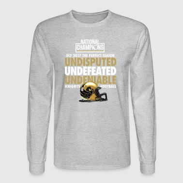 UCF 2017 National Champions Undefeated - Men's Long Sleeve T-Shirt