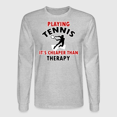 tennis design - Men's Long Sleeve T-Shirt