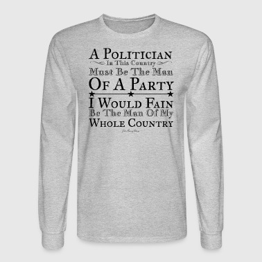 A Man of the Whole Country - Men's Long Sleeve T-Shirt