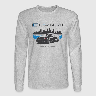 Car Guru - Skyline - Men's Long Sleeve T-Shirt
