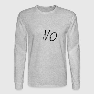 Untitled Anti-Hipster Crap - Men's Long Sleeve T-Shirt