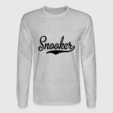 2541614 15468528 snooker - Men's Long Sleeve T-Shirt