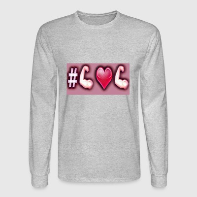 #❤ is for never giving up 1agapi's signature. - Men's Long Sleeve T-Shirt